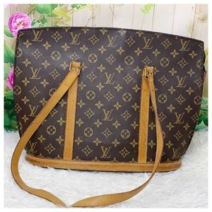 Authentic Louis Vuitton Monogram Babylon Bag